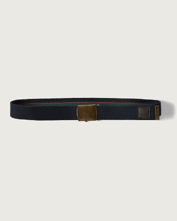 Mens Reversible Boyscout Belt