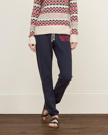 ANF A&F Banded Slouchy Sweatpants