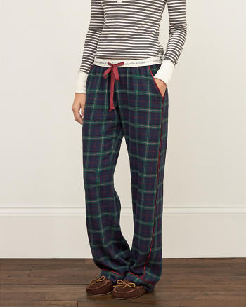 ANF Patterned Sleep Pants
