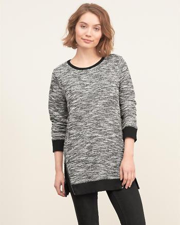 ANF Side-zip Tunic Sweatshirt