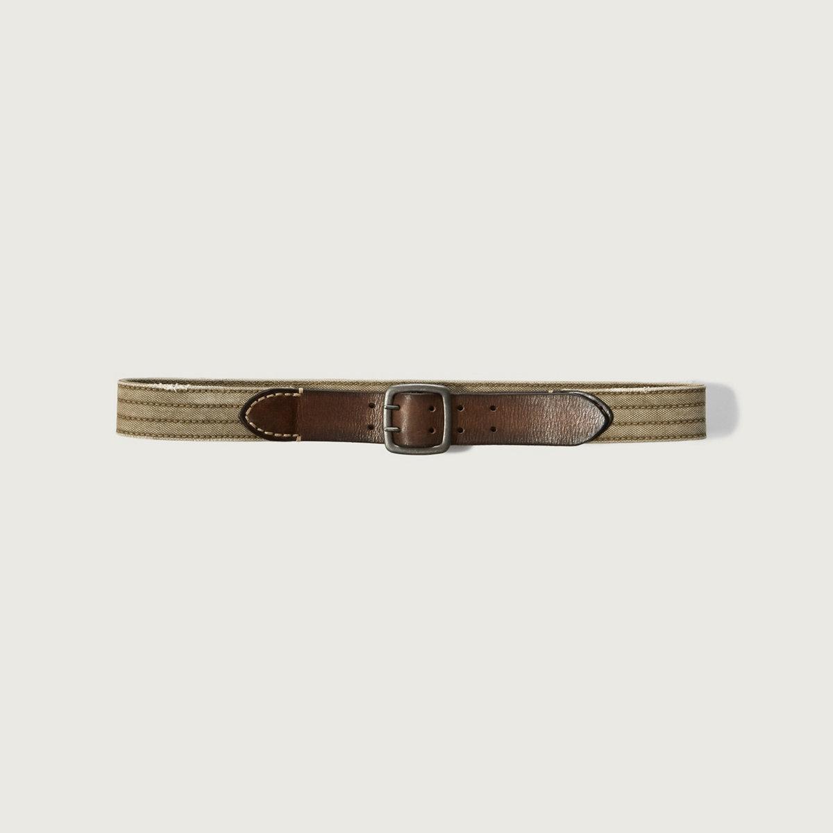 Mixed Fabric Belt