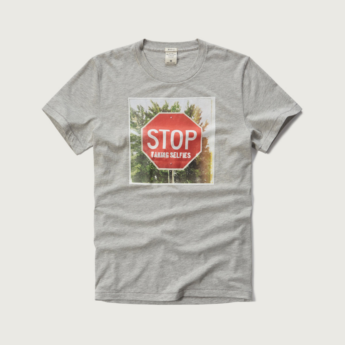 Stop Sign Graphic Tee