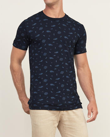 ANF Patterned Crew Tee