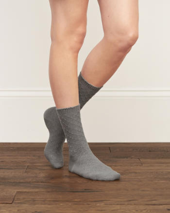 Womens Pretty Classic Socks