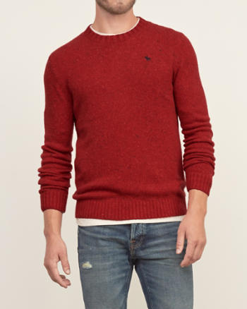 Mens Iconic Crew Sweater