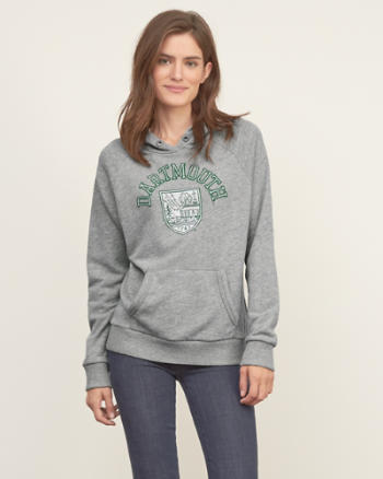 Womens Ivy League Graphic Hoodie