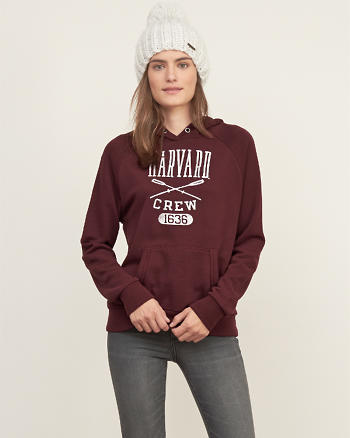 ANF Ivy League Graphic Hoodie