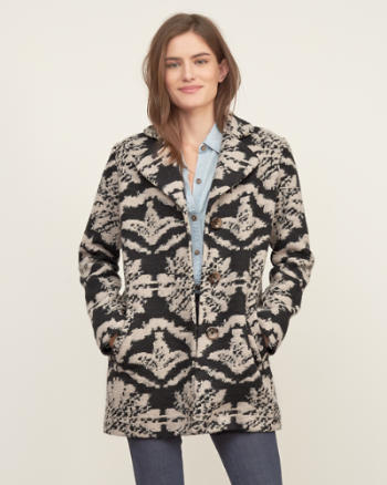 Womens Patterned Jacket