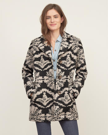 ANF Patterned Jacket
