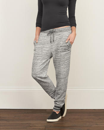 ANF A&F Contrast Joggers