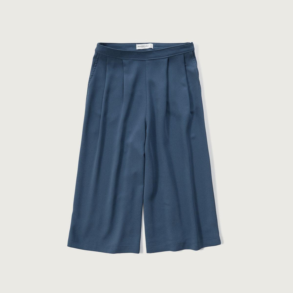 Crepe Gaucho Pants