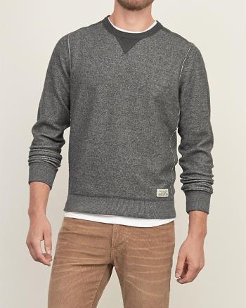 ANF Contrast Fleece Sweatshirt