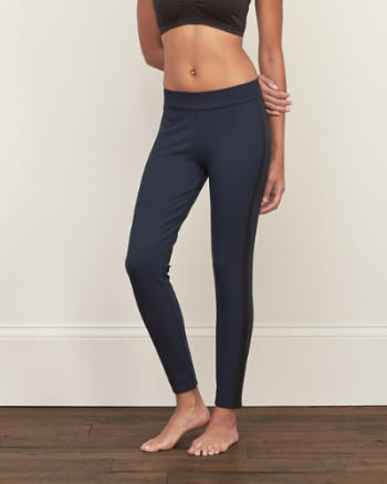 Womens A&F Side-Panel Leggings