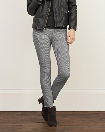 ANF Patterned Easy Pants