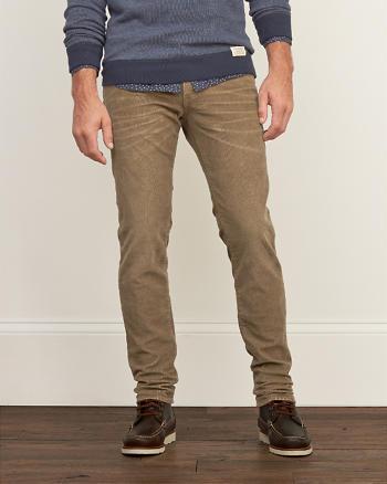 ANF A&F Skinny Corduroy Pants