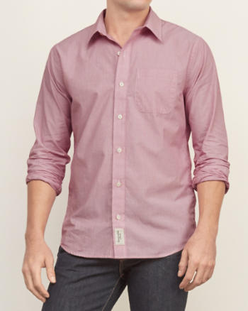 Mens Stripe Cotton Shirt