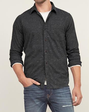 ANF Textured Shirt