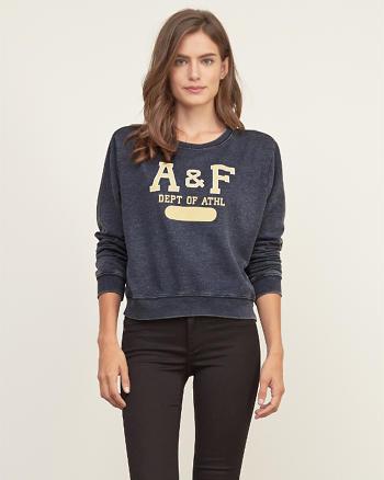 ANF color graphic sweatshirt