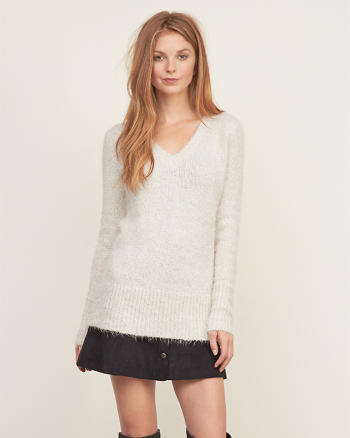 ANF Shine V-neck Sweater