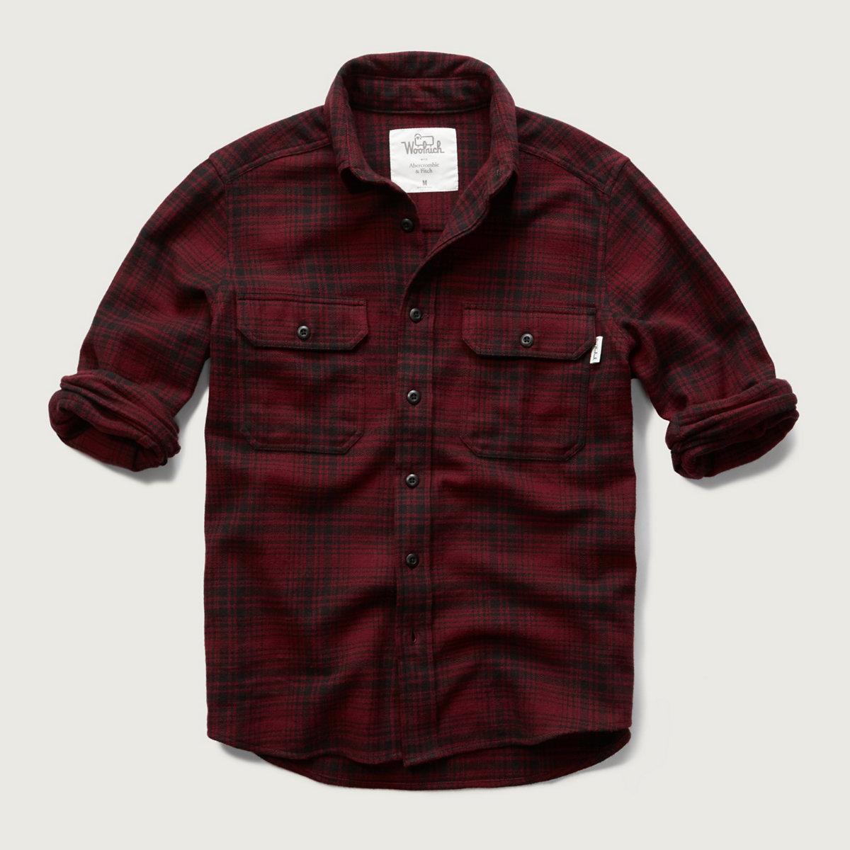 Woolrich Plaid Flannel Shirt