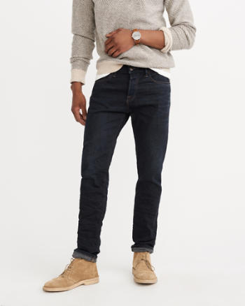 Mens Selvedge Straight Jeans