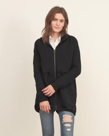 Womens Quilted Sherpa Hood Jacket