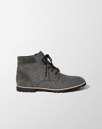 ANF Woolrich Wool Beebe Boot