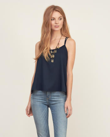 Womens Strappy Easy Cami