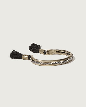 Womens Fringe Bangle