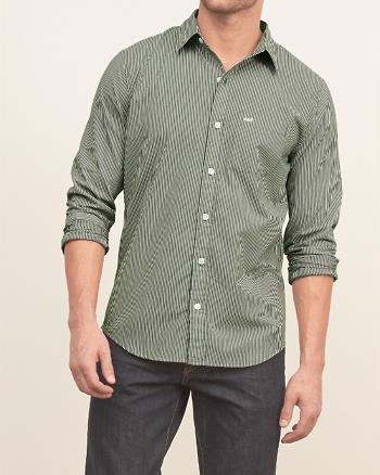 ANF A&F Striped Shirt