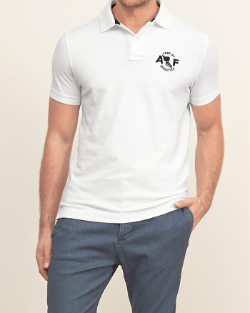 ANF Applique Logo Polo