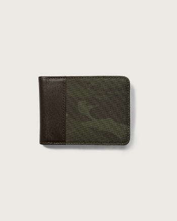 Mens Contrast Billfold Wallet
