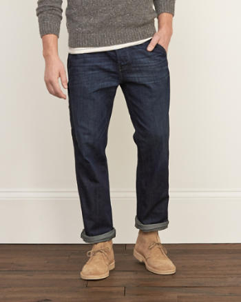 Mens Classic Straight Workwear Jeans