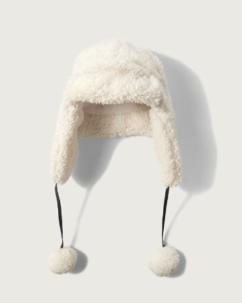 Womens Sherpa Trapper Hat