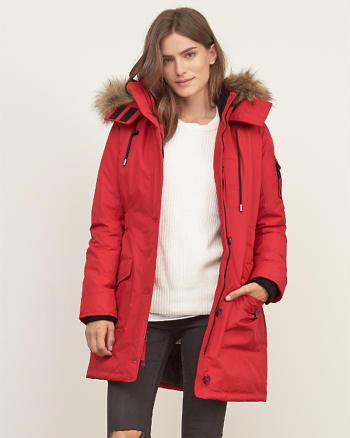 ANF Hooded Arctic Parka Jacket