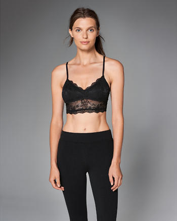 ANF Lace Strappy Bralette
