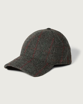 Mens Woolrich Wool Baseball Cap