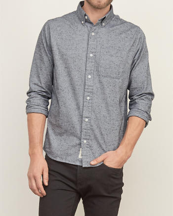 ANF Textured Shirt