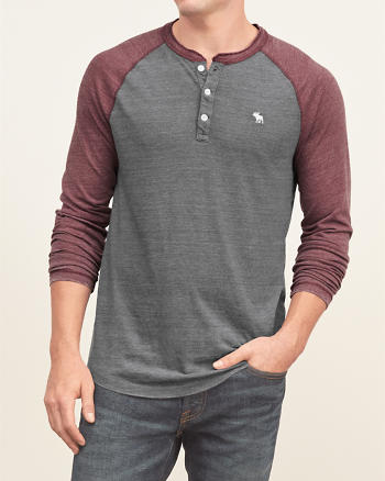 ANF Burnout Baseball Henley