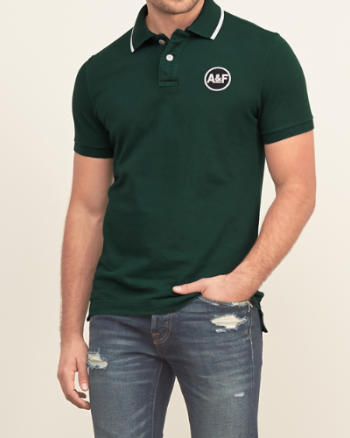 Mens Embroidered Logo Polo