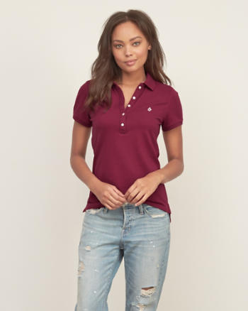 Womens Iconic Slim Polo