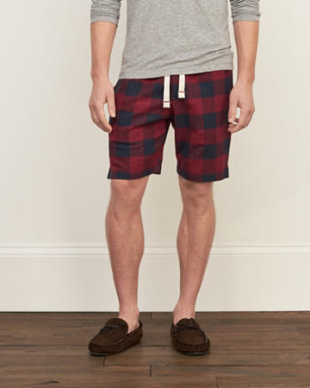 Mens Patterned Sleep Shorts