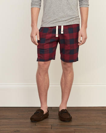 ANF Patterned Sleep Shorts