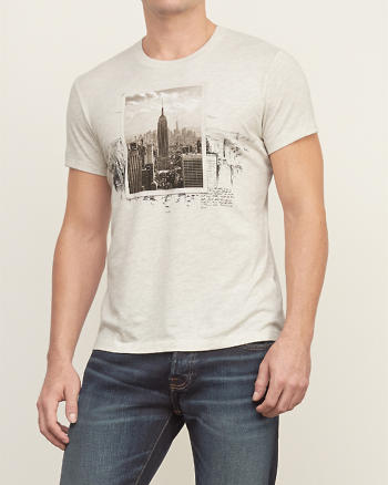 ANF Retro City Graphic Tee