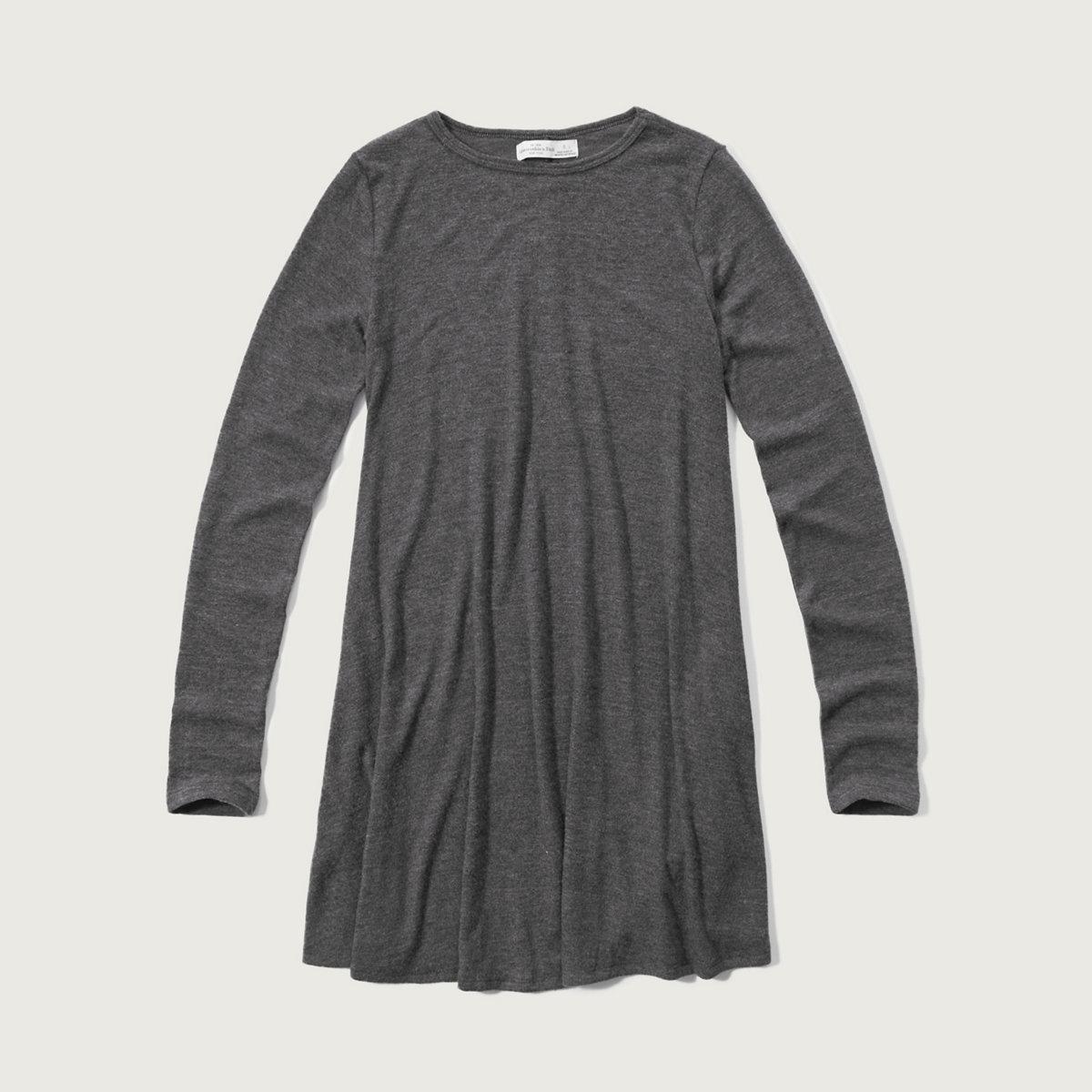 Textured Easy Dress