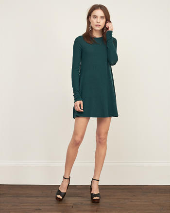 ANF Textured Easy Dress