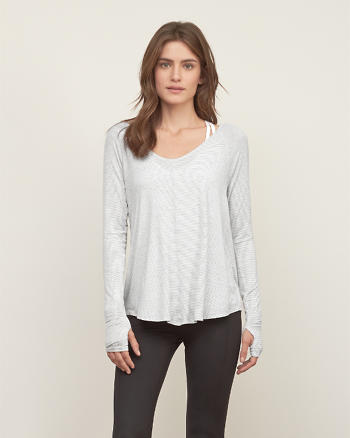 ANF Easy Wrap Back Tee