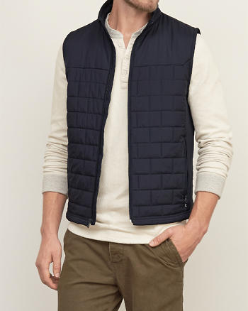 ANF Primaloft Lightweight Puffer Vest