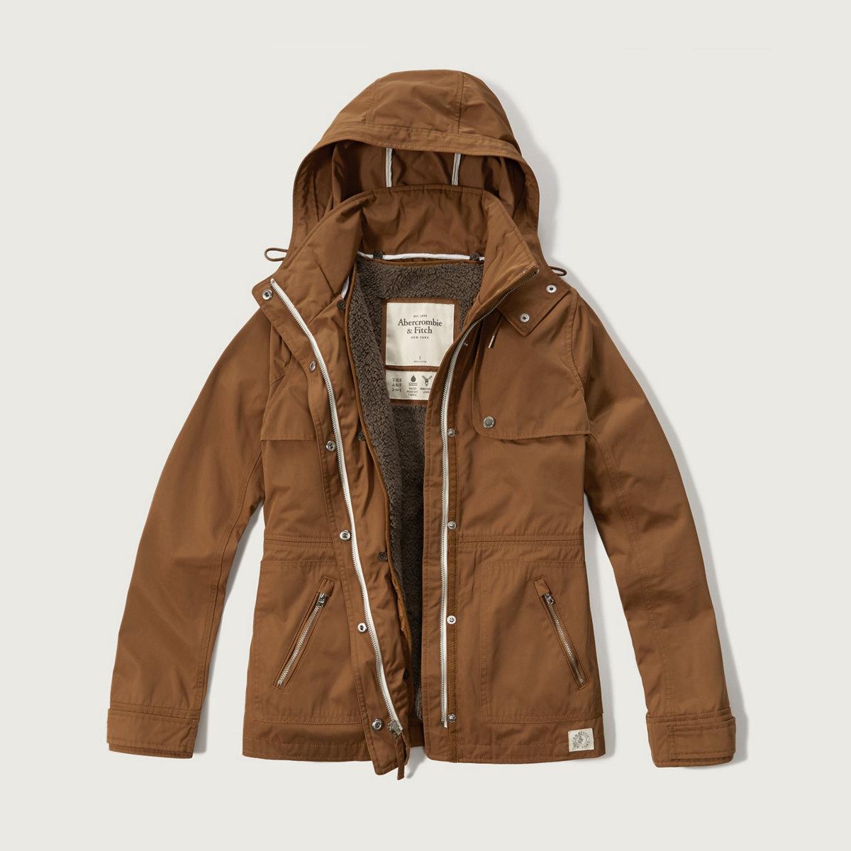 A&F 2-in-1 Nylon Jacket