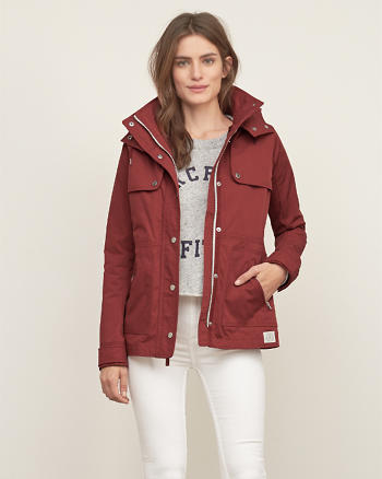 ANF A&F 2-in-1 Nylon Jacket